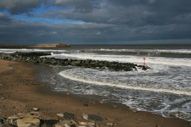 Cattersty Sands, High Tide