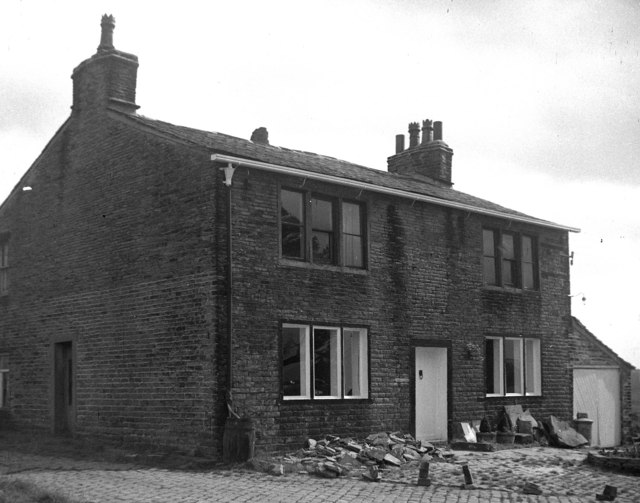 Former 'Kings Arms', Tunshill, near Milnrow, Lancashire