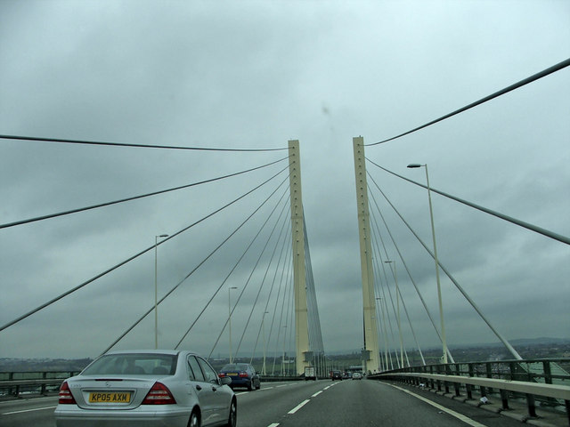 QEII Bridge over the Thames