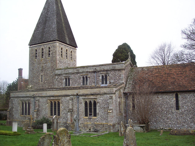 All Saints Church, Idmiston