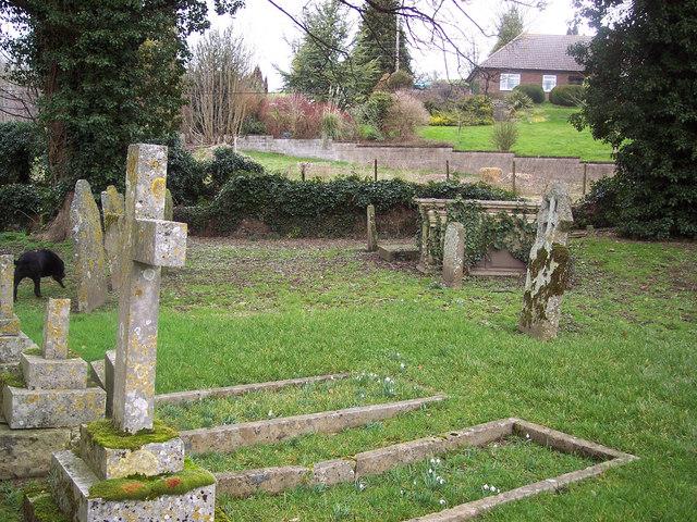 All Saints Church, Idmiston - Churchyard