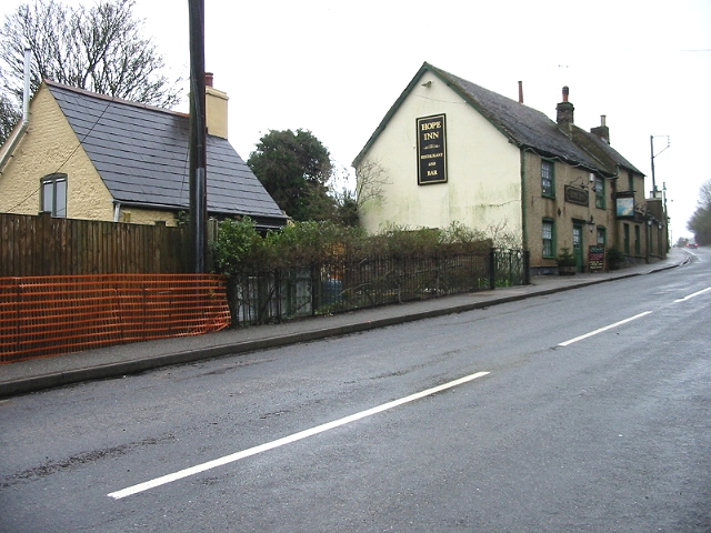 Hope Inn,on the old A2, Lydden