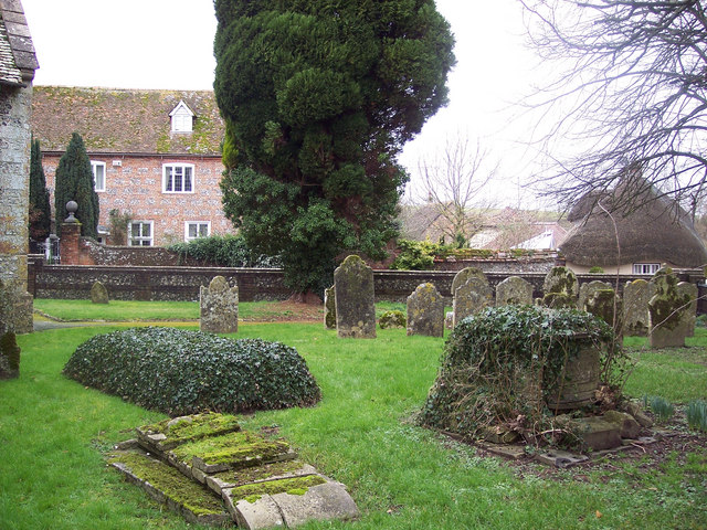 All Saints Church, Idmiston - Churchyard