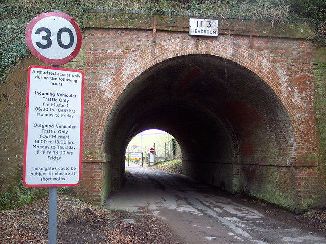 Railway Bridge No E4/208 Idmiston