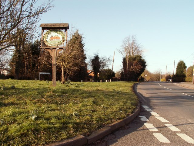 Doddinghurst village sign