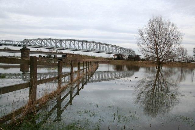 River Trent in flood