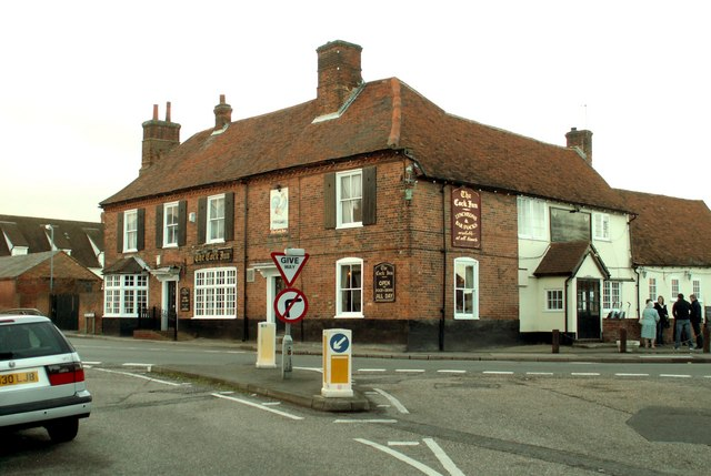 'The Cock Inn' at Stock
