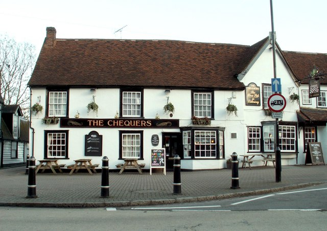 'The Chequers' inn