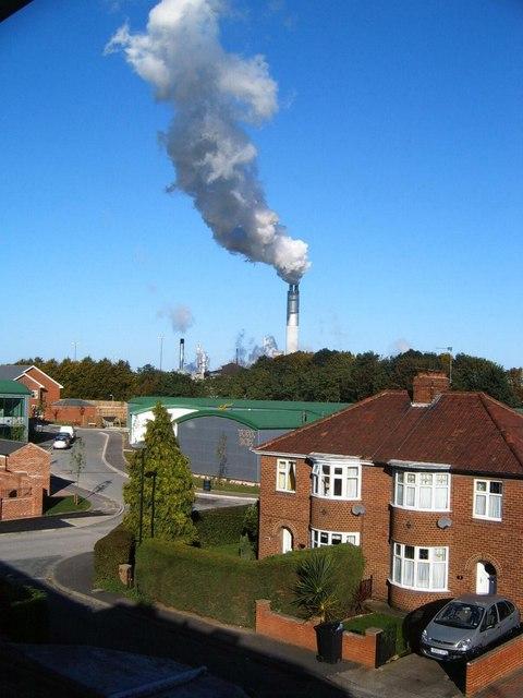 York Sugarbeet factory in 2006