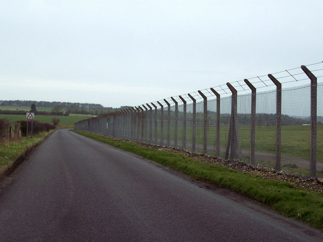 Security Wire at Boscombe Down