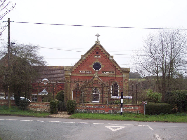 Converted Wesleyan Chapel at Netton