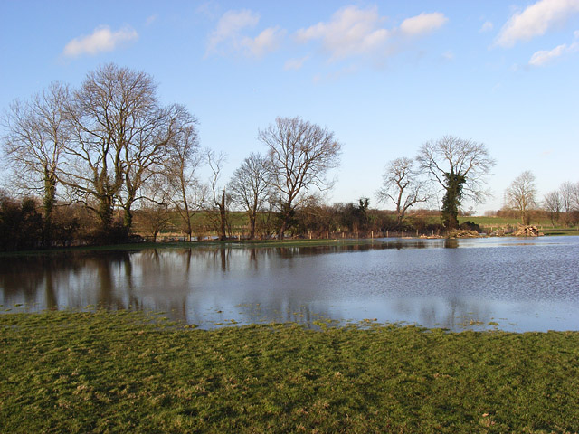 Great Ouse floodwaters