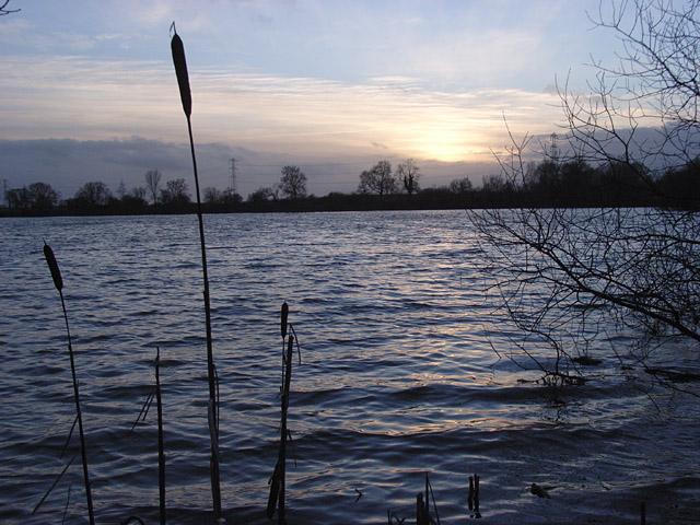 Reservoir below Foscote