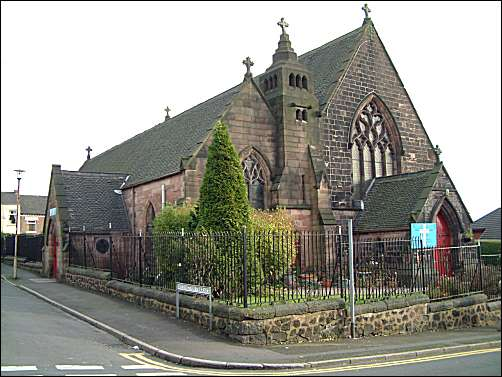 St. Luke's - Wellington, Hanley
