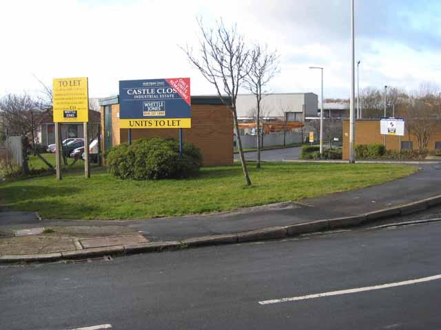 Castle Close Industrial Estate, Crook