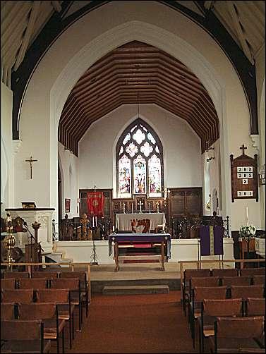 Interior of St. Luke's - Wellington, Hanley