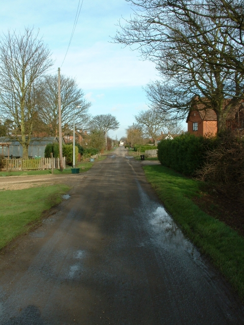 Woodgate Road, Moulton Chapel
