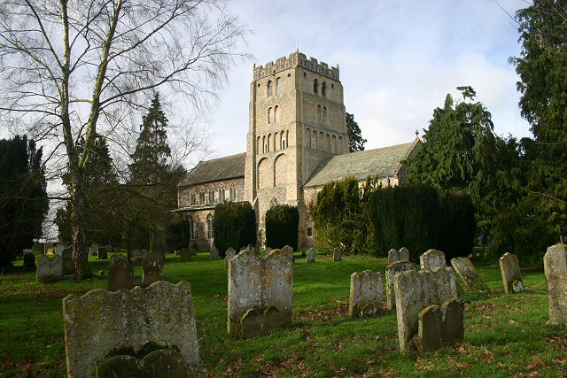South Lopham Church and graveyard