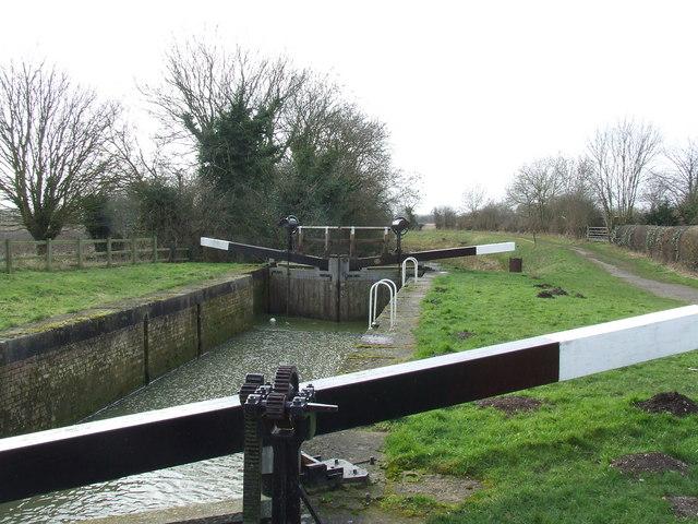 The Lock at the Canal Head near to Pocklington.