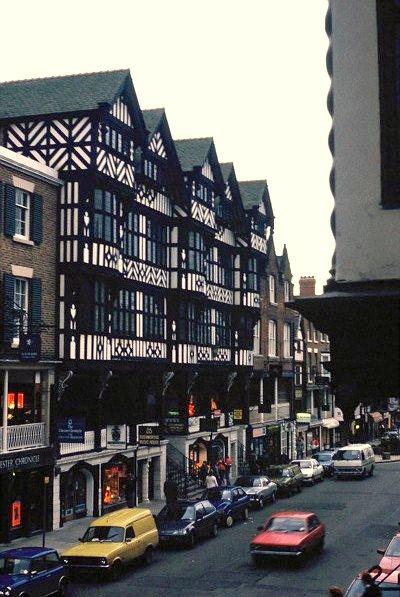 St Michael's Buildings, Bridge Street, Chester