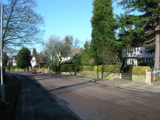 Moor Green Lane, Moseley