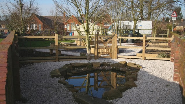 Dipping Pool and Garden