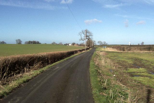 Access Lane towards Gatenby