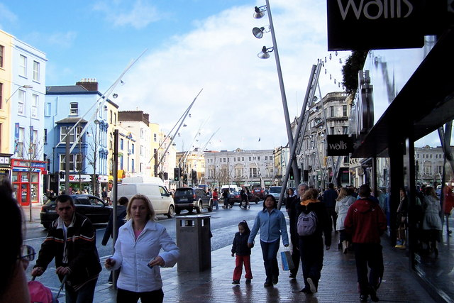 Patrick Street, Cork City, Ireland