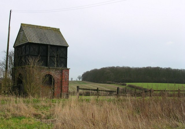Water tank at New Farm Cottages