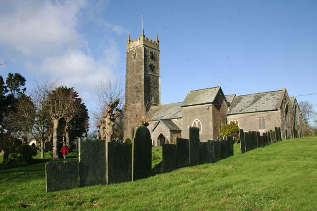 High Bickington Church