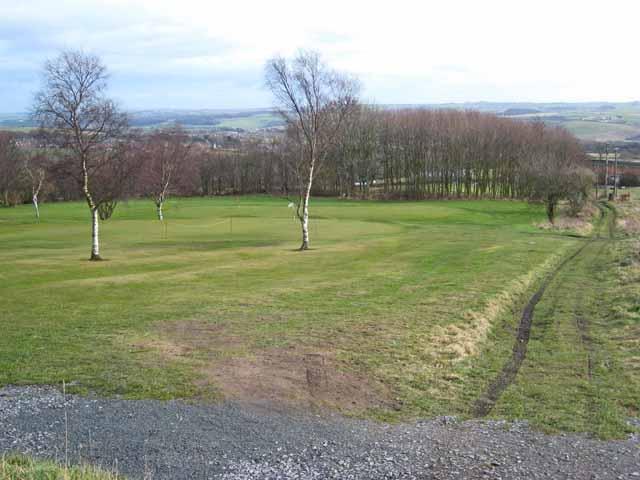 Lower end of Crook Golf Club