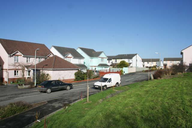 Housing Estate in High Bickington