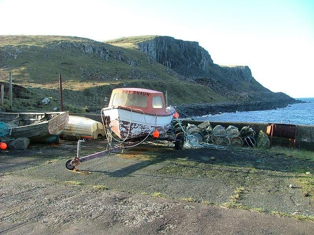 Boat at Camas Mor