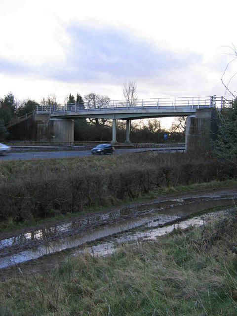 A Bridge Over The A64