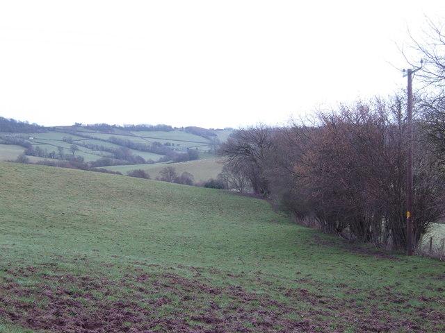 Fields above Lanpil