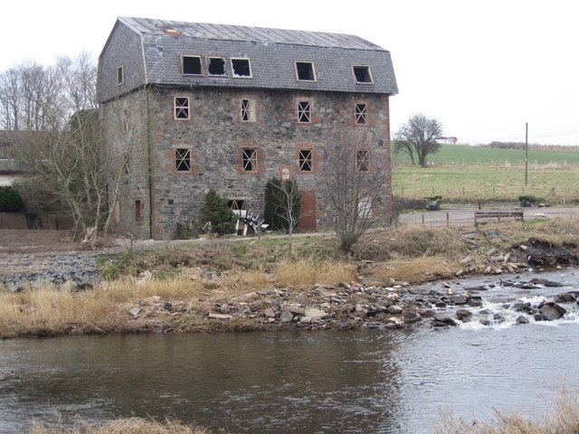 Laigh Milton Weir and Mill