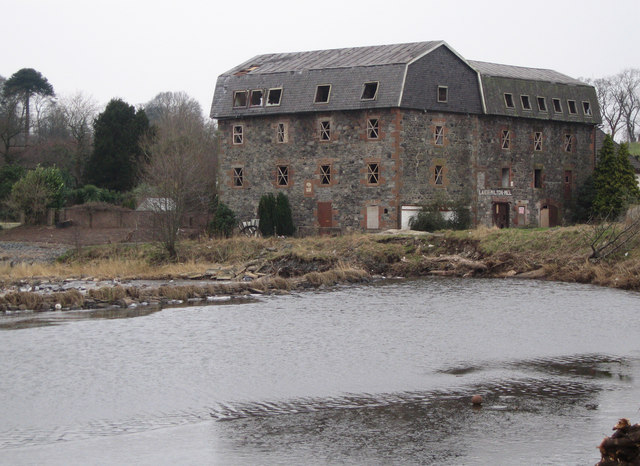 Laigh Milton Weir and Mill