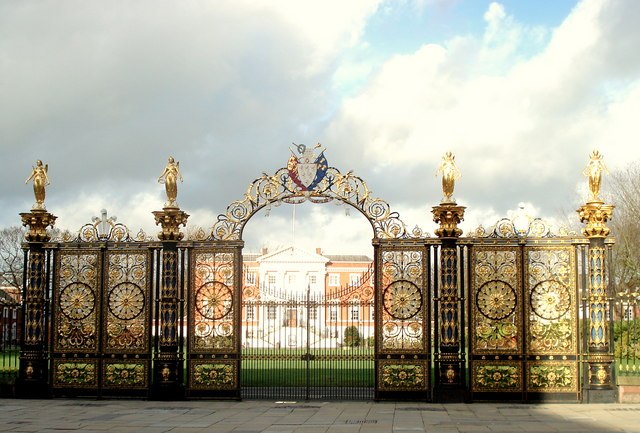 Golden Gates and Town Hall