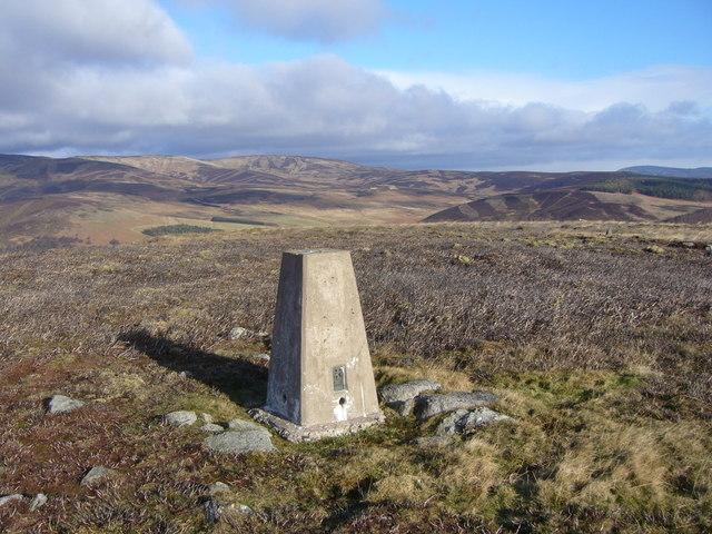 The Crannel trig pillar
