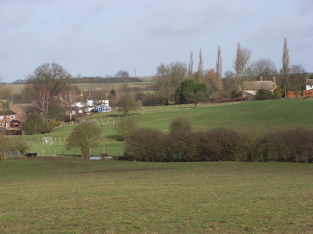 Fields on the edge of Thornborough
