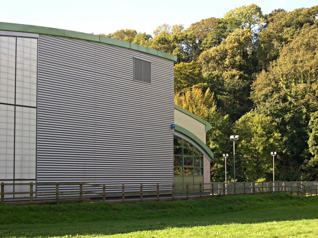 Sports Centre and Trees