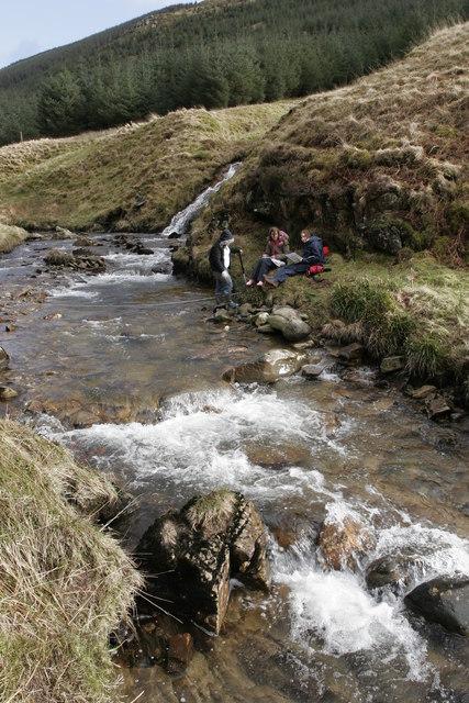 River fieldwork in Garrachra Glen