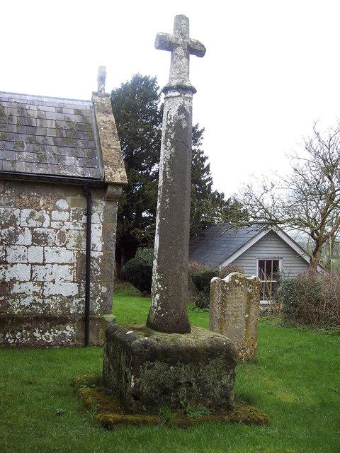 St Catherine's Church, Sedgehill - Cross