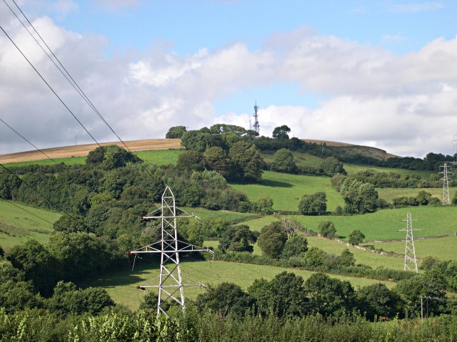 View over the Erme Valley