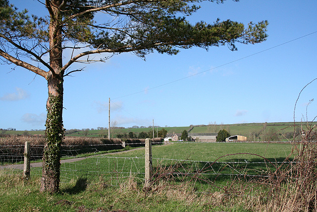 North Tawton: by Stone Cross
