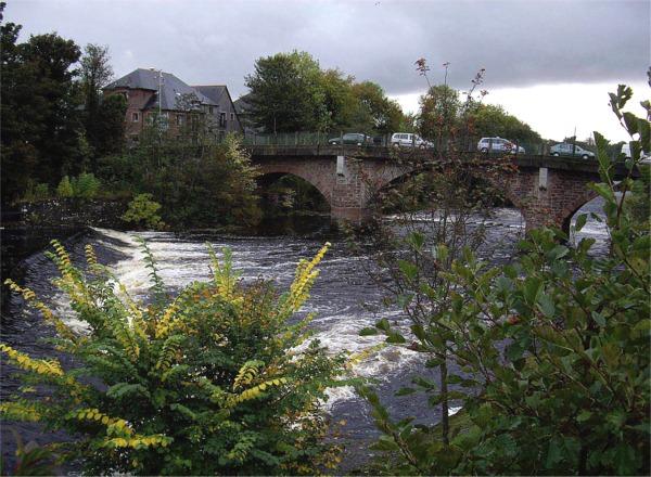 River Ericht, Blairgowrie
