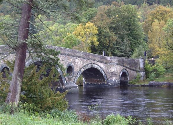Bridge over the Tay, Kenmore