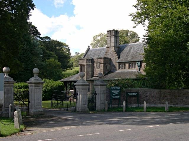 Gatehouse to the Flete Estate