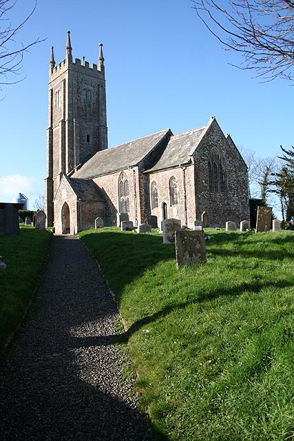 Bondleigh: St James's church