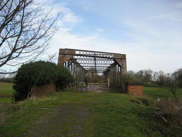 Old Railway Bridge across the River Swale